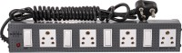 GIRISH Victor Power Strip 4x4 4 Strip Surge Protector (Grey)