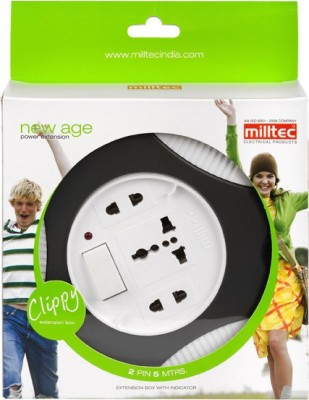 Milltec Clippy 2pin 5Mtr Extension Box