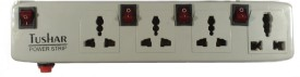 Tushar-4-Strip-Surge-Protector-(4-Switches)