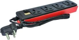 ProDot-4-Sockets-Single-Button-Spike-Buster-(2.5-Mtr)