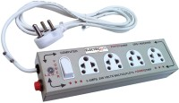 Electricless Power Extension 4 Wall Mount Surge Protector (Beige)