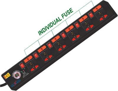 MX2953 6 Strip Spike Surge Protector