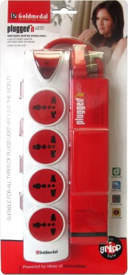 Goldmedal-Plugged-In-4x1-4-Strip-Surge-Protector