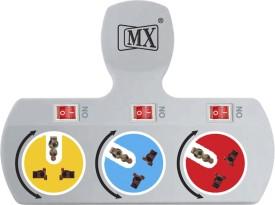 MX-3477A-3-Socket-Spike-Surge-Protector
