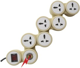 MX 3323 6 Outlet Snake Surge Protector
