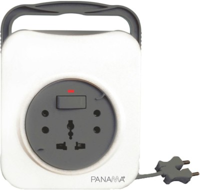 Panama Pearl 2 pin flex box 13 amp 240 volts 3 Wall Mount Surge Protector