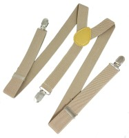 Ammvi Creations Y- Back Suspenders For Men Brown