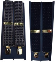 Winsome Deal Y- Back Suspenders For Men Multicolor, Blue - SUSE8F22FV9XZF8A