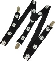 Ammvi Creations Y- Back Suspenders For Men Black