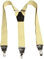 Orosilber Y-Back Suspenders For Men, Women - Beige