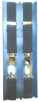 Vecom X- Back Suspenders For Men, Women Blue