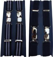 Winsome Deal X- Back Suspenders For Men Multicolor, Blue - SUSE8F22VG2MZUKF