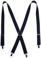 Vecom X- Back Suspenders For Men, Women Blue - SUSE7FYYBUQGFYXD