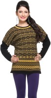 Madrona Geometric Print Round Neck Casual Women's Sweater - SWTE2KFZZTGFP5FP