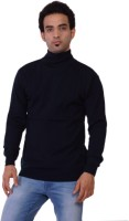 Pierre Carlo Solid Turtle Neck Casual Men's Sweater - SWTEY9UHCUPHBPAK