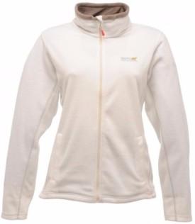 Regatta Solid Crew Neck Women's White Sweater