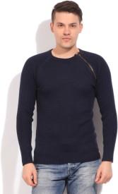 Status Quo Solid Casual Men's Sweater