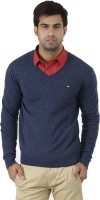 Arrow Solid V-neck Formal Men's Sweater - SWTEFGDUCCVGKV35