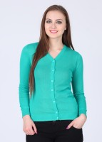 Wrangler Solid V-neck Casual Women's Sweater