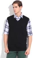Nautica Solid V-neck Casual Men's Sweater