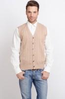 ALX New York Solid V-neck Casual Men's Sweater - SWTDSG8ZZFYVFCSF