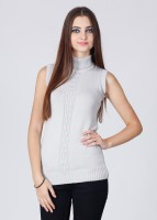 UV&W Solid Turtle Neck Casual Women's Sweater
