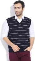 Indian Terrain Solid V-neck Casual Men's Sweater - SWTDZZHQ4MYVW4NH