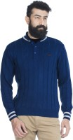 Zovi Solid Round Neck Casual Men's Sweater - SWTE2A5AVABHEDTP