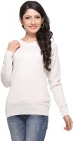 Madrona Solid Round Neck Casual Women's Sweater - SWTEY8SAQTGKAEHP