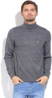 U.S.Polo.Assn Solid Turtle Neck Casual Men's Sweater