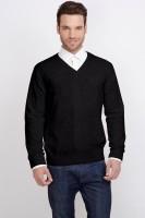 ALX New York Solid V-neck Casual Men's Sweater - SWTDSG9YEENK5KXR