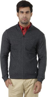 Arrow Solid Turtle Neck Formal Men's Sweater