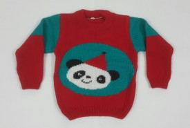 Oshin Woven Round Neck Baby Boy's, Baby Girl's Sweater
