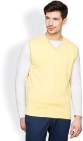 Blackberrys Solid V-neck Casual Men's Sweater