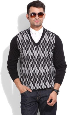 Blackberrys Blackberrys Geometric Print Casual Men's Sweater