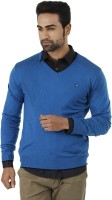 Arrow Solid V-neck Formal Men's Sweater - SWTEFGDUKNW4XYVE