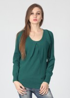 United Colors of Benetton Solid Round Neck Casual Women's Sweater