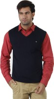 Arrow Solid V-neck Formal Men's Sweater - SWTEFGDUHTMZZP5V