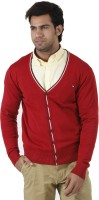 Arrow Solid V-neck Formal Men's Sweater - SWTEFGDUJHTAMKZW