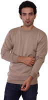 Pierre Carlo Solid Round Neck Casual Men's Sweater