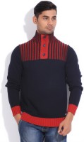 Lee Cooper Striped Round Neck Casual Men's Sweater