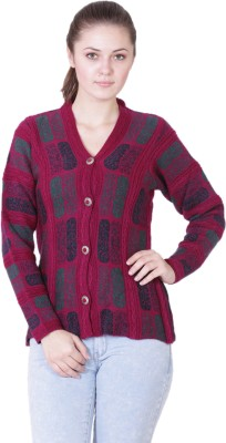 Pazaro Self Design V,neck Casual Women\u0027s Sweater for Rs. 1,139 at Flipkart