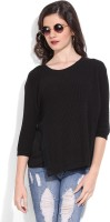 United Colors Of Benetton Solid Round Neck Casual Women's Sweater - SWTEFCG8BNQHZZWF