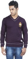 Zovi Solid Round Neck Casual Men's Sweater - SWTE2ZMQH9NUQJV3