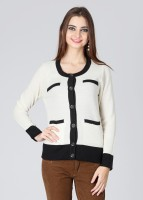 Wills Lifestyle Solid Round Neck Formal Women's Sweater