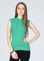 Numero Uno Solid Turtle Neck Casual Women's Sweater