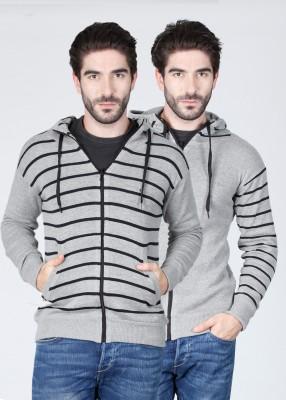 Sports 52 Wear Striped Casual Reversible Men's Sweater