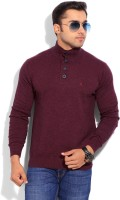 Indian Terrain Solid Round Neck Casual Men's Sweater - SWTEYARZNNM8JZ5T