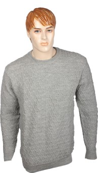 Elson Self Design Round Neck Casual Men's Sweater - SWTEAYYGWJNGMQFM