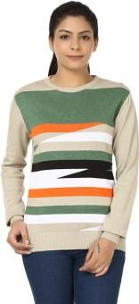 Black Sheep Full Sleeve Woven Women's Sweatshirt - SWSEADCEYB7TG2H9